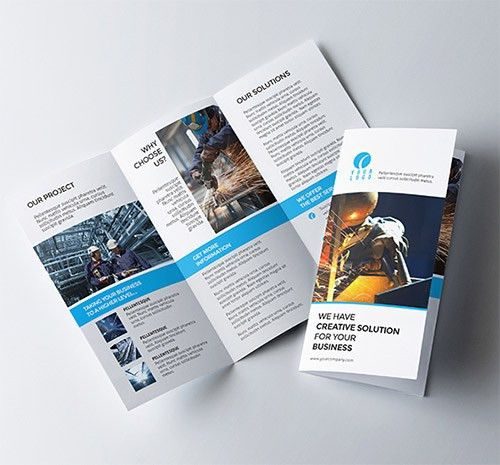 30 Creative Examples of Tri-Fold Brochure Designs | Tri fold ...