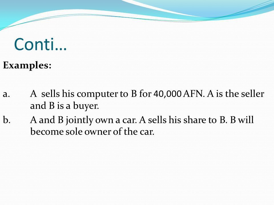 Contract of Sale of Goods. Sale of Goods Act Definition of ...