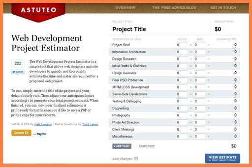 7+ web design proposal template - Sales Report Template
