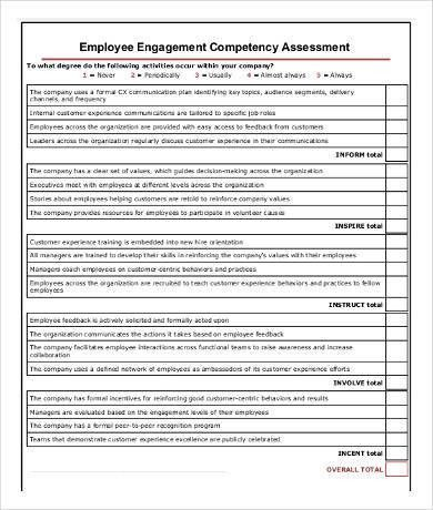 Competency Assessment Templates - 9+ Free Word, PDF Documents ...