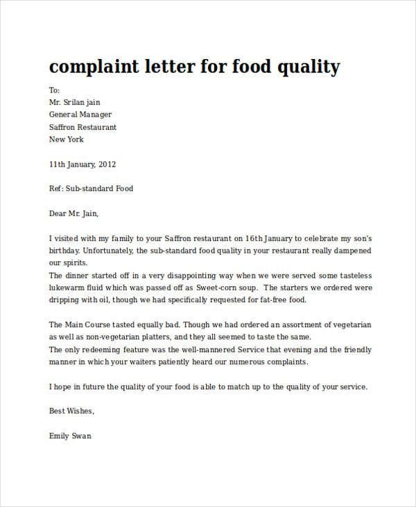 30+ Complaint Letter Examples, Samples