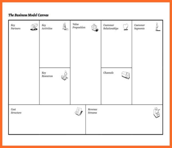 Business Model Canvas Template. Business Model Canvas Template ...