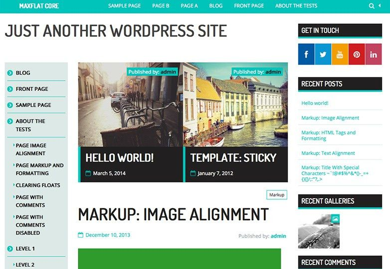 25+ free WordPress themes for April 2014 | Webdesigner Depot
