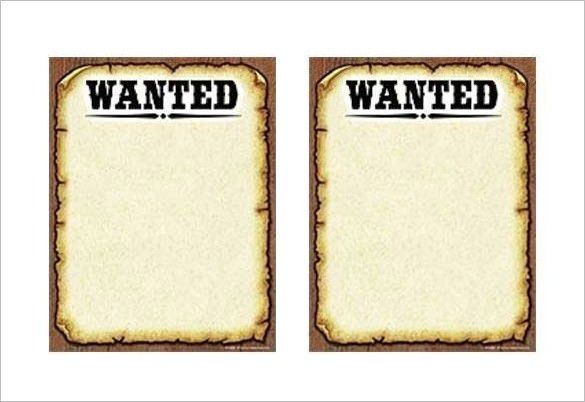 19+ [ Wanted Poster Template Microsoft Word ] | Wanted Wallpaper ...
