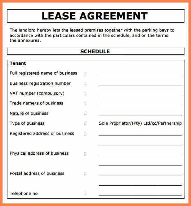 3+ commercial property lease agreement template | Purchase ...