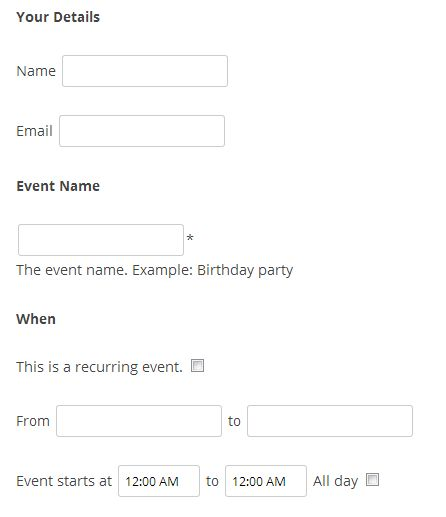 Events Manager for WordPress » Blog Archive Accepting User ...