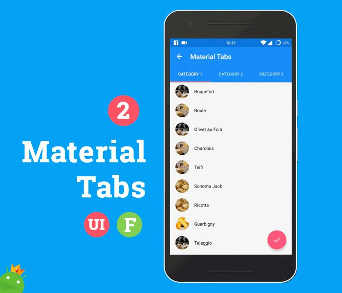 Android Ultimate - Material Design UI + Features Template by ...