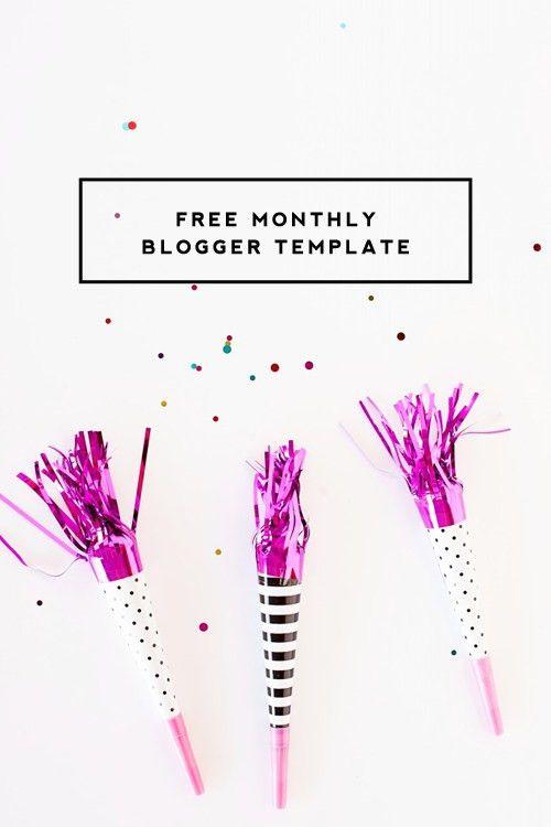 Free Monthly Blogger Template | September - Designer Blogs