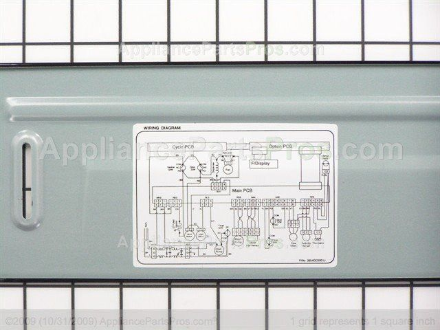LG 3551DD2001B Cover Assembly,lower - AppliancePartsPros.com