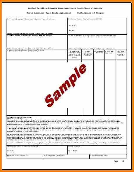 6+ certificate of origin template | resume reference
