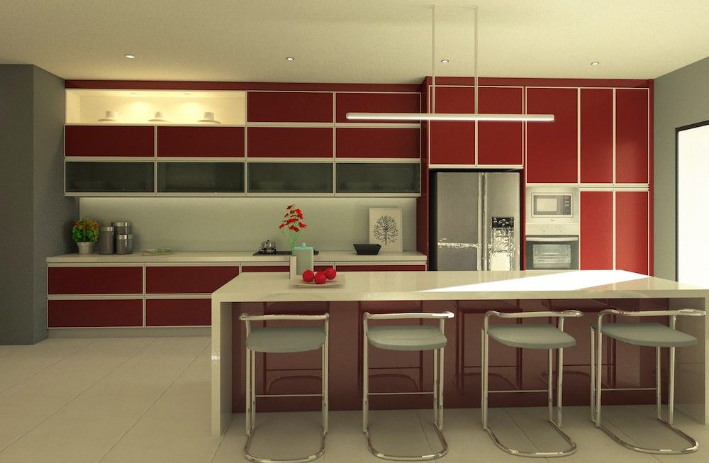 20 Popular Kitchen Cabinet Designs in Malaysia - Recommend LIVING
