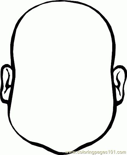 Baby Face Coloring Page | Blank faces | Pinterest | Baby faces and ...