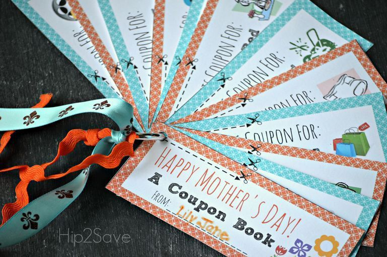 11 Sets of Free, Printable Mother's Day Coupons