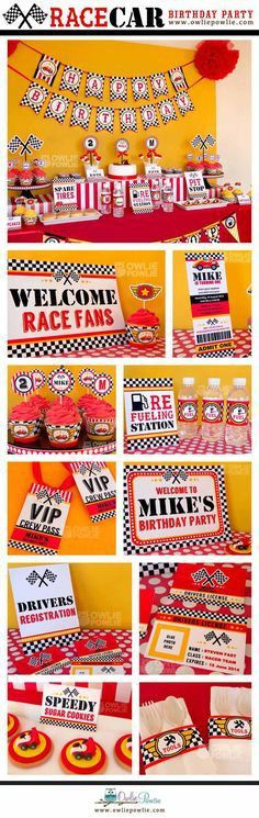 FREE Printable Disney Cars Birthday Party Ticket Invitations - You ...