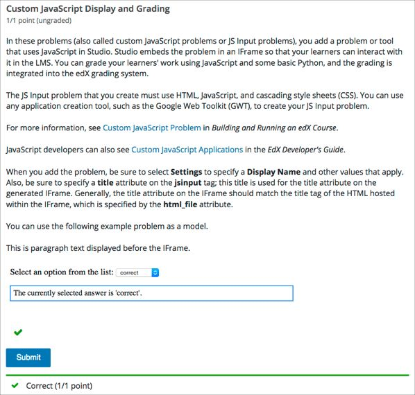 10.10. Custom JavaScript Display and Grading Problem — Building ...