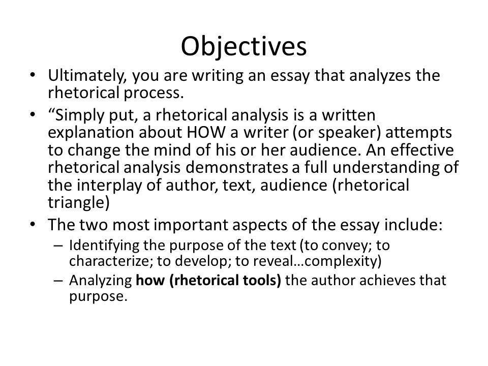 Rhetorical Analysis sourced from: www. sfcss - ppt download
