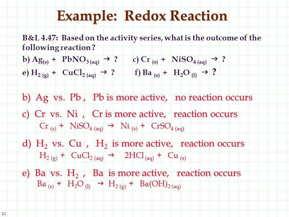 Oxidation-Reduction: A Reaction - ppt video online download
