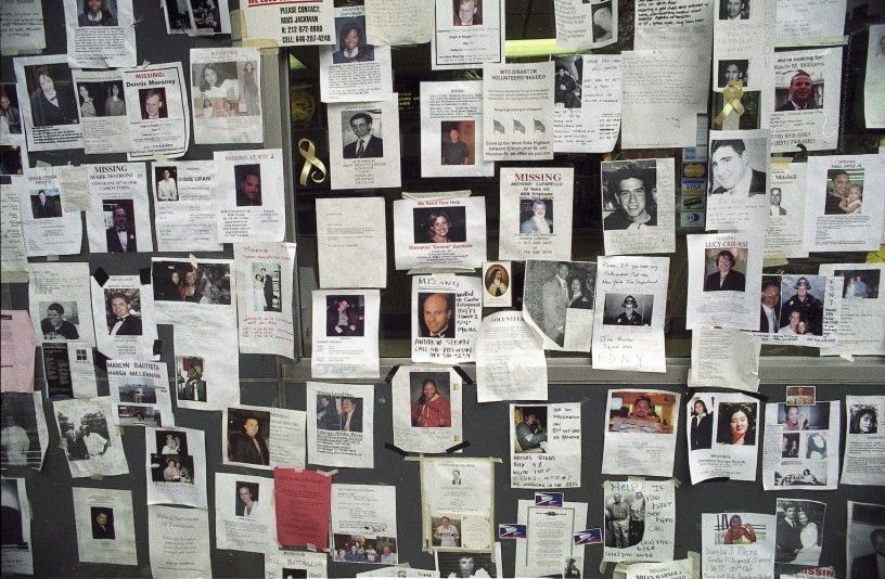 9/11 Missing Persons Posters – The Stefan Roots Blog