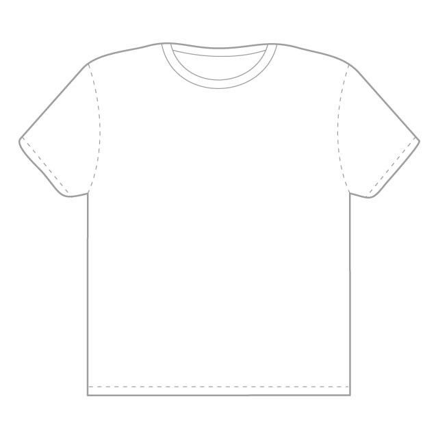 Blank T-shirt Outline | Free Download Clip Art | Free Clip Art ...