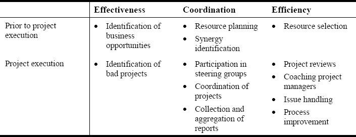 Program Portfolio Managers Analysis of Roles Responsibilities