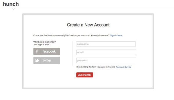 The Ultimate UX Design of: the Sign-Up Form - Designmodo