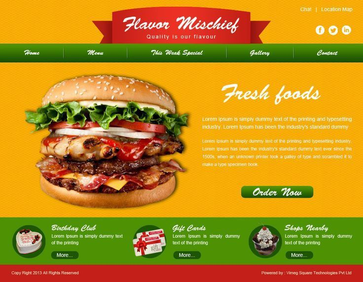Website Template 35 Website Designing, Website Development, Custom ...