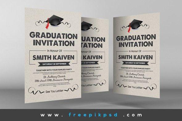 Graduation Invitation Design 2017 #39219 | LINEGARDMED.COM