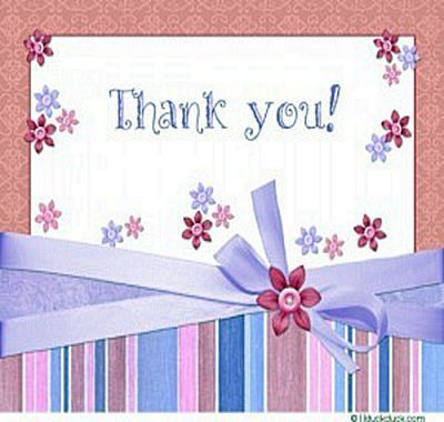 Get Your Free Thank You Cards To Print | Images From Web Site