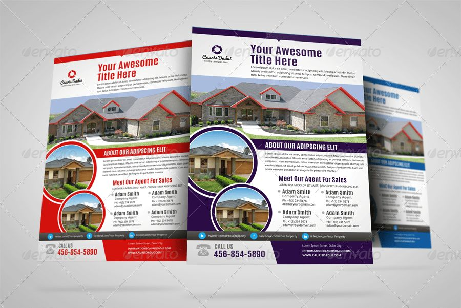 Property Sale Real Estate Flyer Ad by Jbn-Comilla | GraphicRiver