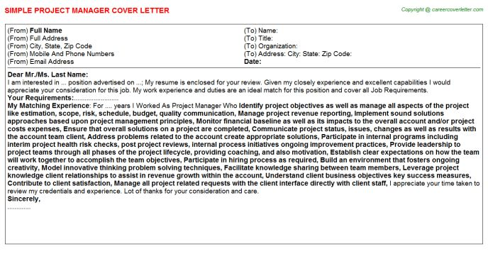 Call Center Floor Manager Cover Letter