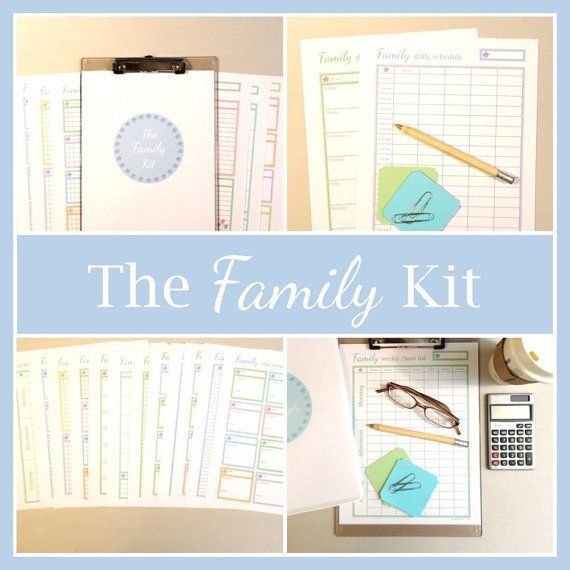 354 best Family Chore Charts images on Pinterest | Family chore ...