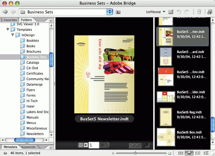 Free InDesign Templates from InDesignSecrets.com : InDesignSecrets