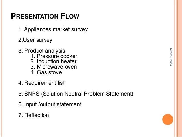 Solution Neutral Problem Statement (SNPS) Generation (Example - Cooki…