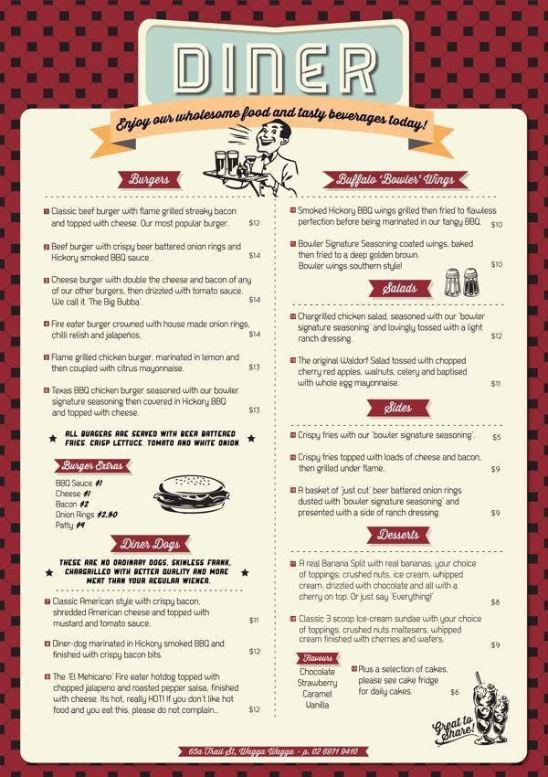 522 best Restaurant menu design images on Pinterest | Restaurant ...