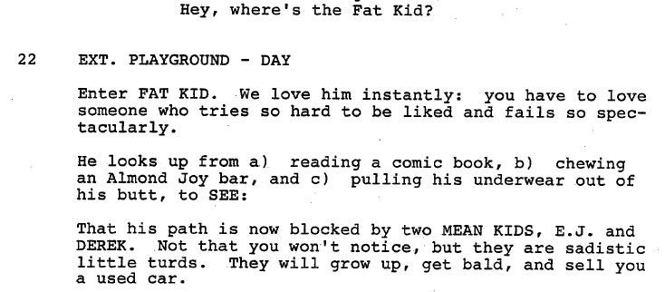 the monster squad script | Branded in the 80s