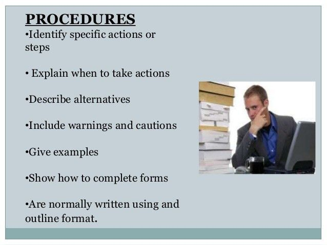 Writing Effective Policies & Procedures2