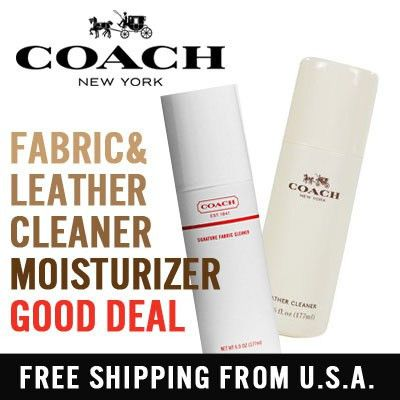 Qoo10 - [COACH] Leather and Fabric Cleaner Leather Moisturizer for ...