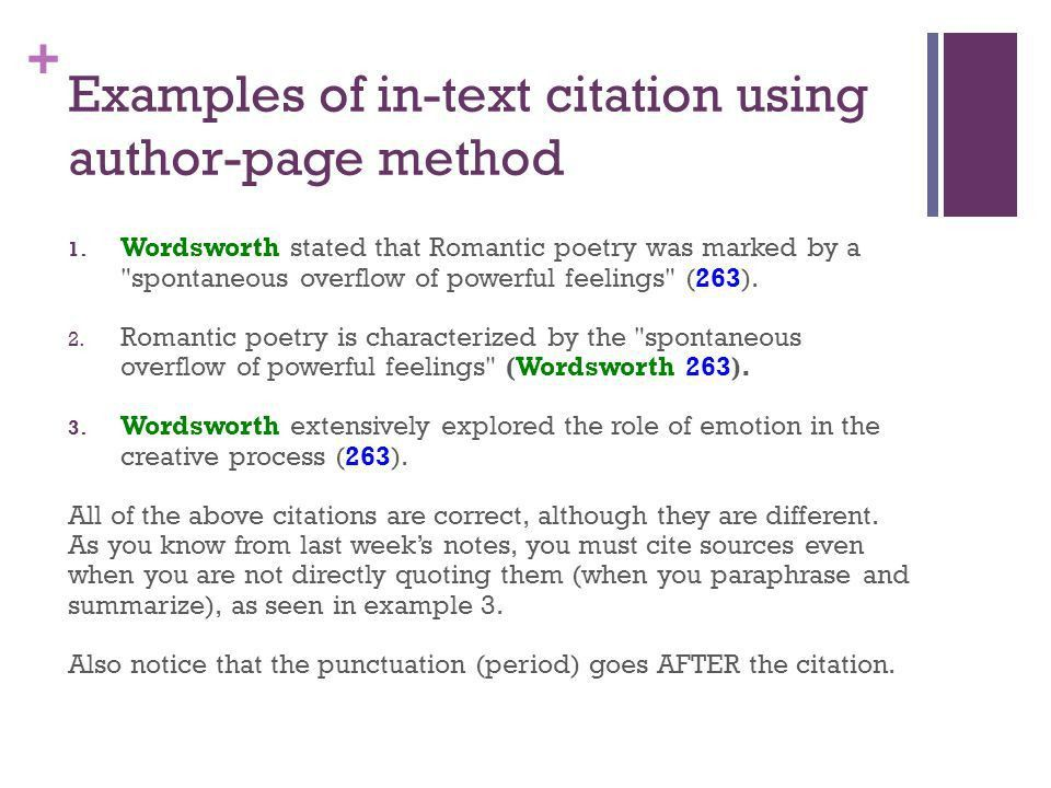 In-Text Citations (aka parenthetical citations) - ppt video online ...