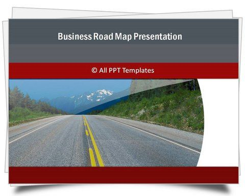PowerPoint Business Roadmap Template