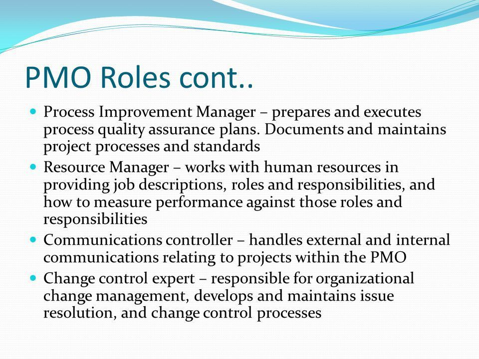 project management office(PMO) - ppt video online download