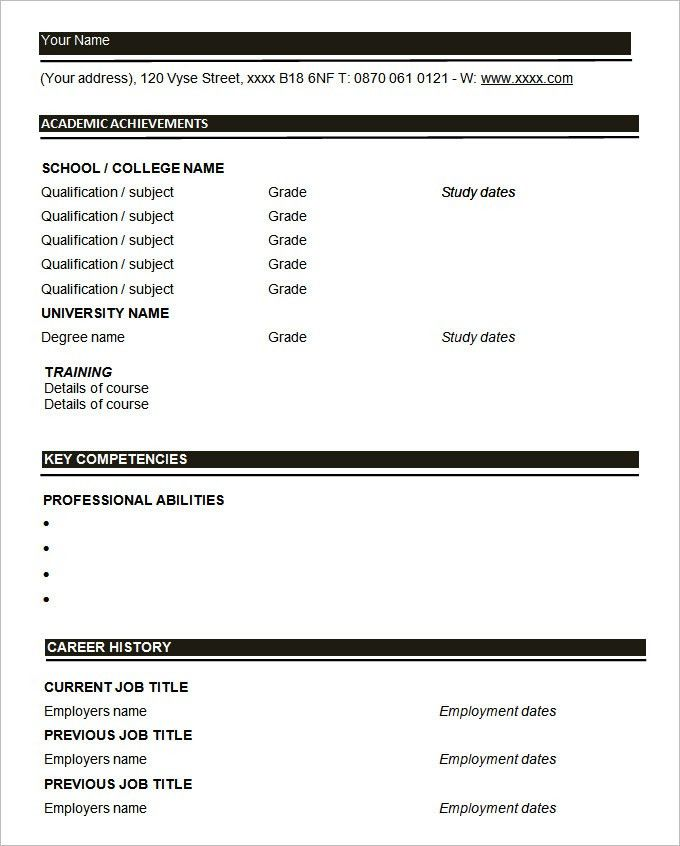 resume blanks tenancy agreement word printable resume template ...
