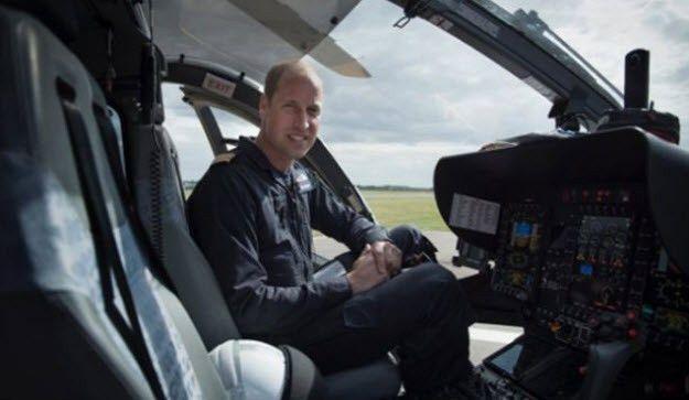 Prince William's Air Ambulance Job Has 'Dark Moments'