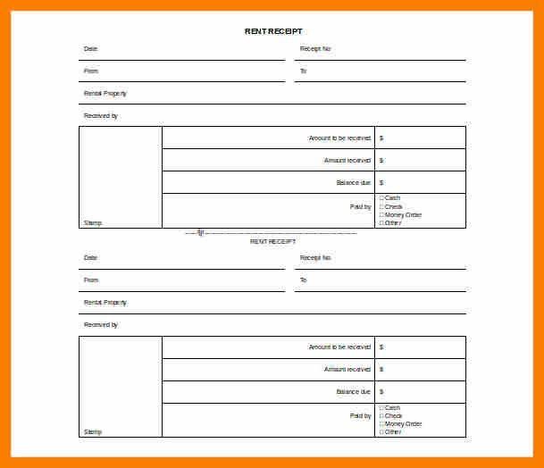 7+ rent receipt template uk | retail-resumes