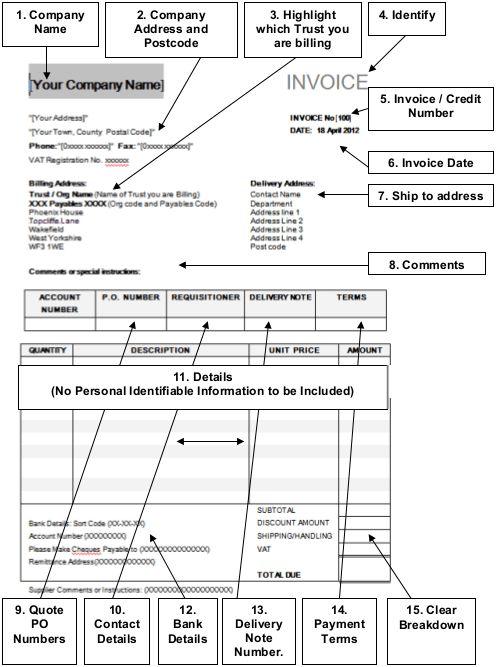 Invoice Example Uk | free printable invoice