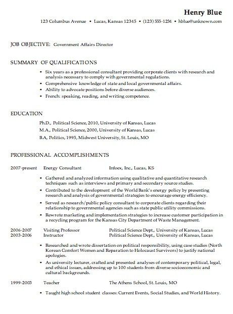 Usajobs Resume Example | Template Design