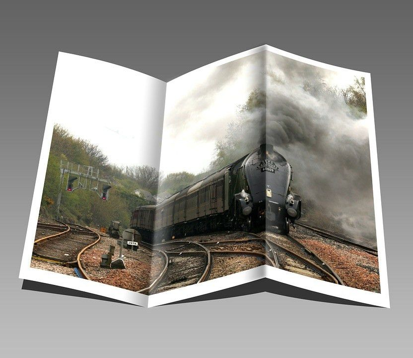 Free photo: Booklet, Pamphlet, Train, Engine - Free Image on ...