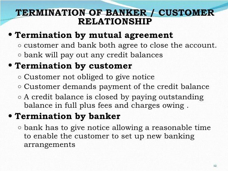 Chapter 10 banker- customer relationship