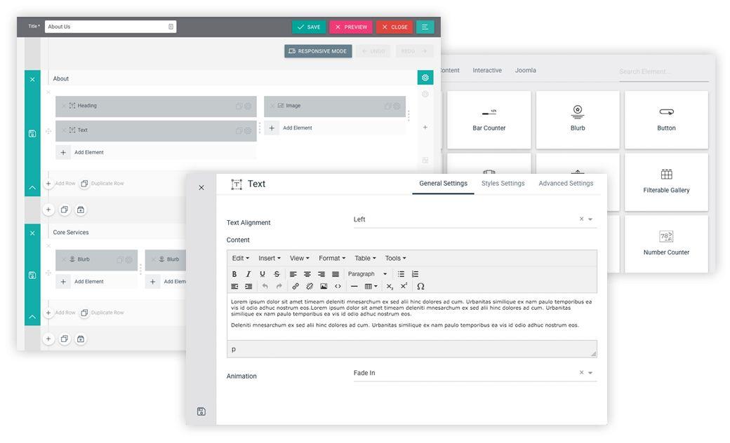 Quix - The Most Advanced Drag & Drop Website Builder For Joomla ...