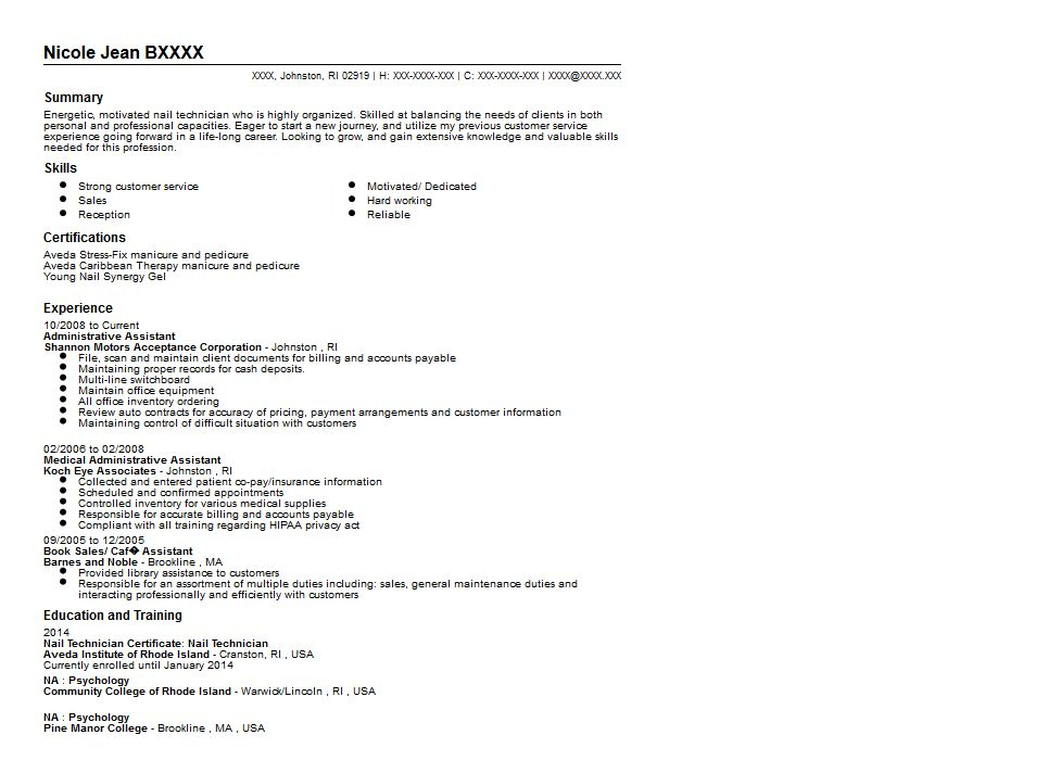 technician resume samples unforgettable automotive technician