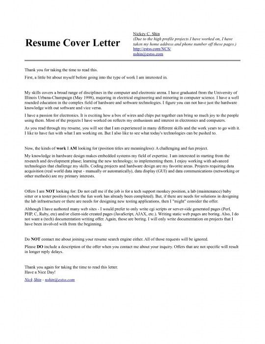 The Elegant Resume For Computer Engineering | Resume Format Web